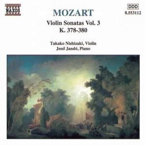 Mozart: Violin Sonatas, Vol. 3 Product Image