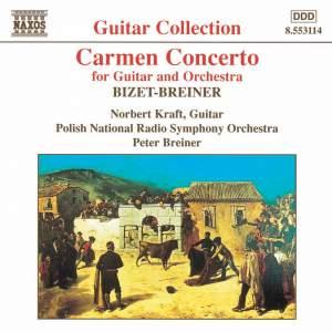 Granados: Valses Poeticos & Breiner: Carmen Concerto