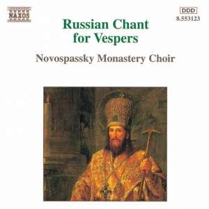 Russian Chant For Vespers Product Image