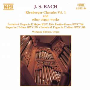 Bach, J.S.: Kirnberger Chorales And Other Organ Works, Vol. 1 Product Image