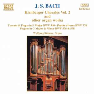 Bach, J.S.: Kirnberger Chorales And Other Organ Works, Vol. 2 Product Image
