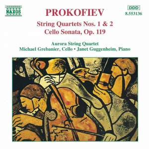 Prokofiev: String Quartet No. 1 in B minor, Op. 50, etc. Product Image