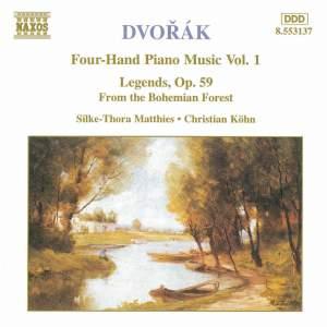 Dvorak: Four-Hand Piano Music, Vol. 1
