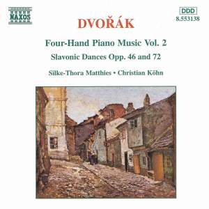 Dvorak: Four-Hand Piano Music, Vol. 2