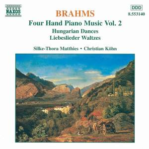 Brahms: Four-Hand Piano Music, Volume 2