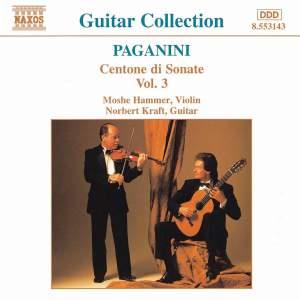 Paganini: Centone di Sonate, Vol. 3 Product Image