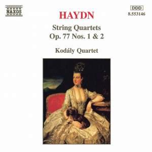 Haydn: String Quartets Op. 77 Nos. 1 & 2 Product Image