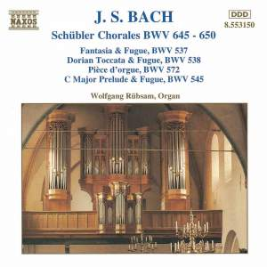 Bach: Schübler Chorales BWV645-650 & other organ works Product Image