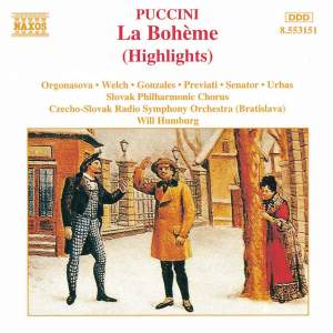 Puccini: La Bohème (highlights) Product Image