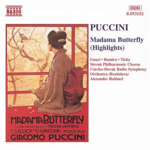 Puccini: Madama Butterfly (highlights) Product Image