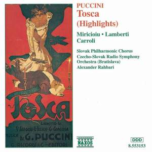 Puccini: Tosca (highlights) Product Image