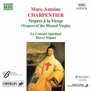 Charpentier, M-A: Vespres a la Vierge (Vespers of the Blessed Virgin) Product Image