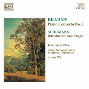 Brahms: Piano Concerto No. 1 & Schumann: Introduction and Concerto-Allegro Product Image