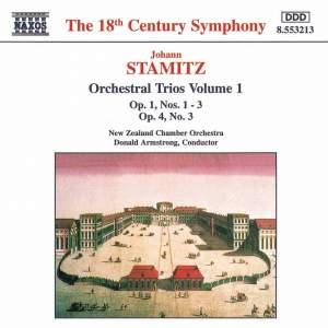 Johann Stamitz - Orchestral Trios, Vol. 1 Product Image