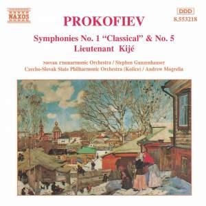 Prokofiev: Symphonies Nos. 1 & 5, Lieutenant Kijé Suite Product Image