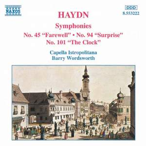 Haydn: Symphony No. 45 in F sharp minor 'Farewell', etc. Product Image