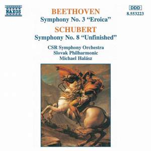 Beethoven & Schubert: Eroica & Unfinished Symphonies Product Image
