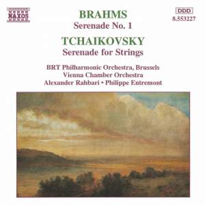 Brahms & Tchaikovsky: Serenades for Strings Product Image