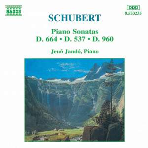 Schubert: Piano Sonatas, D664, D537 and D960 Product Image