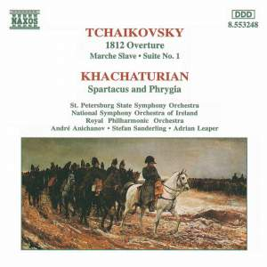Tchaikovsky: 1812 Overture, Marche slave & Suite No. 1 in D major Product Image
