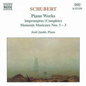 Schubert: Impromptus & 3 Moments Musicaux, D. 780