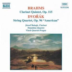 Brahms: Clarinet Quintet & Dvorak: American Quartet Product Image