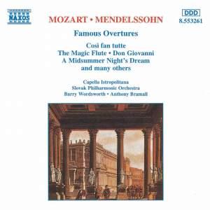 Mozart & Mendelssohn: Famous Overtures Product Image