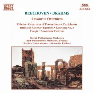 Beethoven & Brahms: Favourite Overtures Product Image