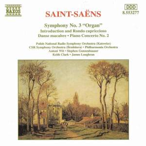 Saint-Saëns: Symphony No. 3 and other works Product Image