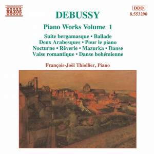 Debussy: Piano Works, Vol. 1 Product Image