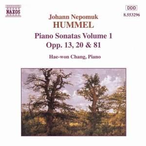 Hummel: Piano Sonatas, Vol. 1 Product Image