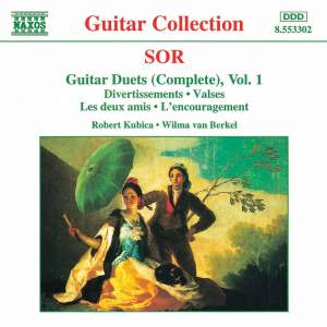 Sor: Guitar Duets, Vol. 1
