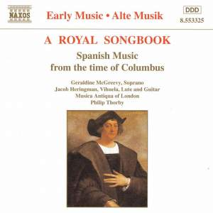 A Royal Songbook Product Image