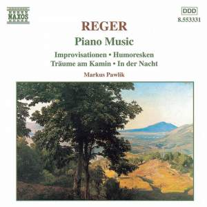 Reger: Piano Music Product Image