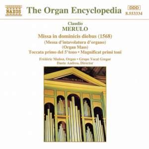 Merulo: Missa in Dominicis Diebus Product Image