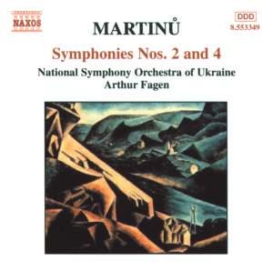 Martinu: Symphonies Nos 2 & 4 Product Image