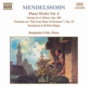 Mendelssohn: Piano Works. Vol. 4 Product Image