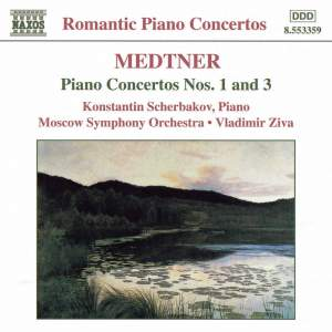 Medtner - Piano Concertos Nos. 1 & 3 Product Image