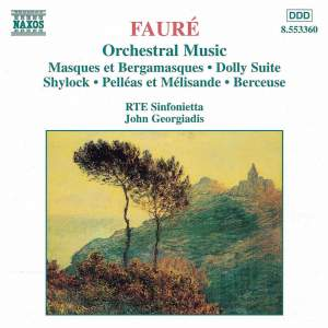 Fauré: Orchestral Music Product Image