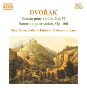 Dvořák: Sonata pour violon et Sonatina pour violon