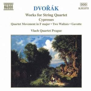 Dvorak - String Quartets Volume 5 Product Image