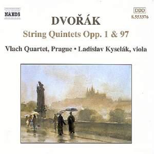 Dvorak: String Quintets Nos. 1 & 3
