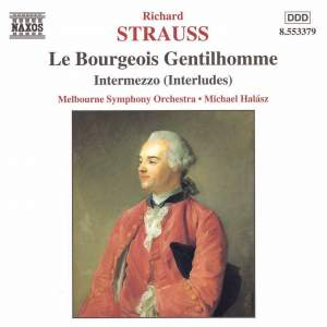 Strauss: Le Bourgeois Gentilhomme & Four Symphonic Interludes from Intermezzo Product Image