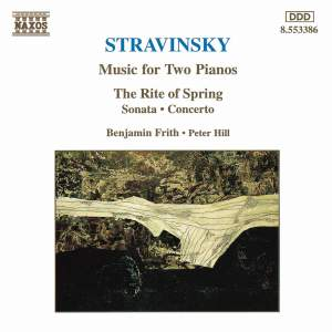 Stravinsky: Music For Two Pianos Product Image