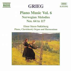 Grieg: Piano Music. Vol. 6 Product Image