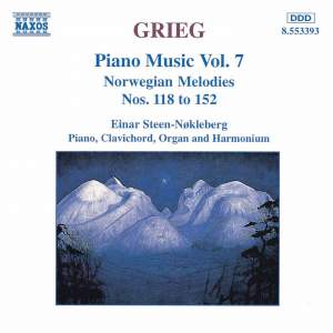 Grieg: Piano Music. Vol. 7 Product Image