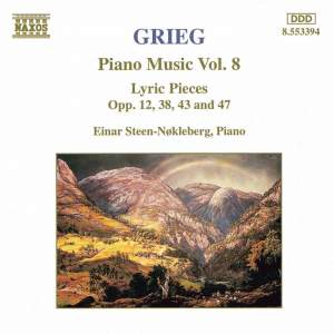 Grieg: Piano Music. Vol. 8