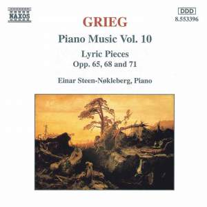 Grieg: Piano Music. Vol. 10 Product Image