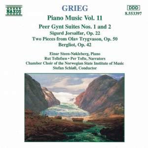 Grieg: Piano Music. Vol. 11