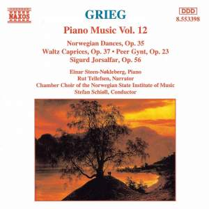Grieg: Piano Music. Vol. 12
